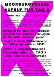 Tag-X-Plakat